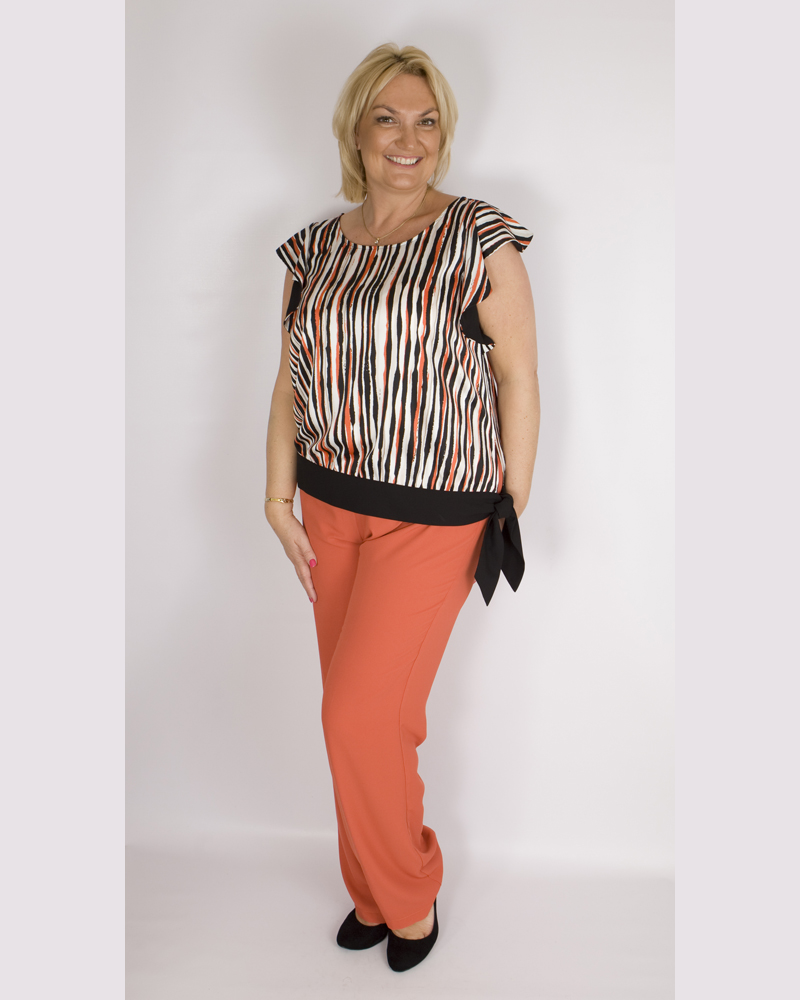 Paz Torras V19220 top and trouser