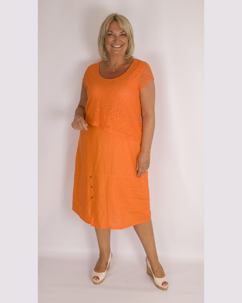 Maloka Rosette Orange