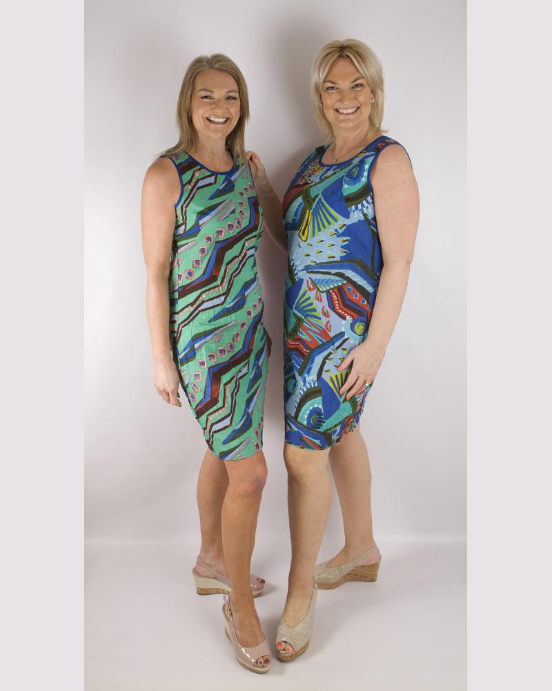 Orientique reversible dress   61414  Granada