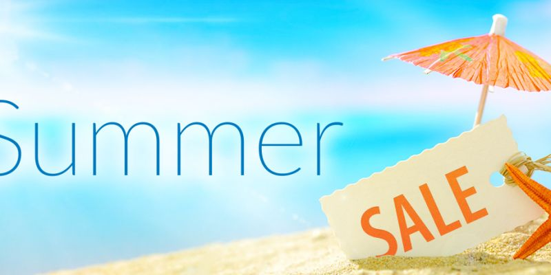 SUMMER SALE STARTS  THURSDAY 2ND JULY  20 AM